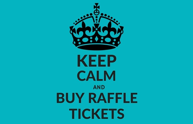 how to sell raffle tickets